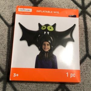 Kids Bat Halloween Inflatable Wig/Mask 🦇
